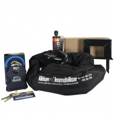 Almax Immobiliser Series V EXTREME 22mm + Squire SS80CS XLN Stronghold Lock + Defiant Ground Anchor