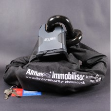 Almax Immobiliser Series V EXTREME 22mm + Squire SS80CS XLN Stronghold Lock