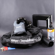 Almax Immobiliser Series V EXTREME 22mm + Squire SS80CS Stronghold Lock + Defiant Ground Anchor